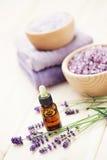 Lavender aromatherapy Στοκ εικόνα με δικαίωμα ελεύθερης χρήσης