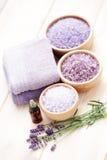 Lavender aromatherapy Στοκ Φωτογραφίες