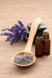 Lavender aromatherapy Stock Photography