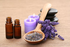 Lavender aromatherapy Stock Photos