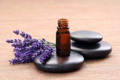 Lavender aromatherapy Stock Image