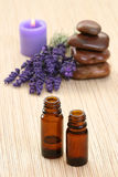 Lavender aromatherapy Royalty Free Stock Photos
