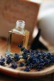Lavender aromatherapy oil Royalty Free Stock Image