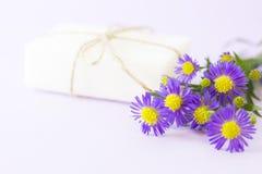 Lavender aromatherapy SPA έννοια Στοκ εικόνες με δικαίωμα ελεύθερης χρήσης