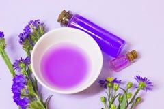 Lavender aromatherapy SPA έννοια Στοκ εικόνα με δικαίωμα ελεύθερης χρήσης