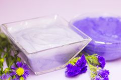 Lavender aromatherapy SPA έννοια Στοκ φωτογραφίες με δικαίωμα ελεύθερης χρήσης
