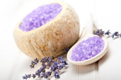 Lavender - aromatherapy treatment Stock Images
