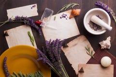 Lavender Background Stock Photos