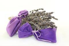 Lavender bag Stock Photo