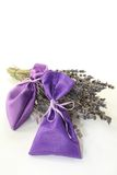 Lavender bag Stock Images