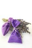 Lavender bag Stock Images