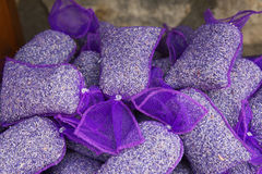 Lavender bags Stock Image
