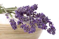 Lavender bath Royalty Free Stock Photos