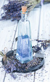 Lavender Bath Additive Stock Photo