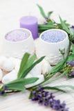 Lavender bath caviar Stock Image