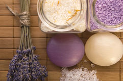 Free Lavender Bath Items. Stock Photography - 2335902