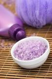 Lavender bath salts Stock Image