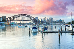 Lavender Bay Sydney stock photo