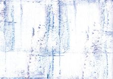 Lavender blurred watercolor texture. Hand-drawn abstract watercolor texture. Used contrasting and transient colors Stock Photography