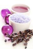 Lavender body care Stock Image