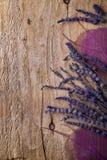 Lavender border Royalty Free Stock Photography