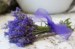Lavender bouquet. Royalty Free Stock Images
