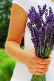 Lavender bouquet Royalty Free Stock Photos