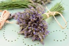 Lavender bouquet Stock Image
