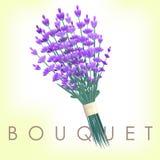Lavender bouquet vintage Stock Photo