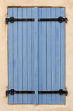 Lavender colored blue blinds Stock Photography