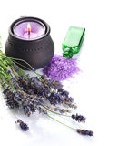 Lavender Cosmetics royalty free stock images