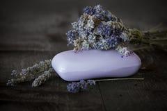 Lavender cosmetics Stock Photos