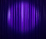 Lavender curtain Stock Photography