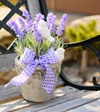 Lavender decoration Royalty Free Stock Photos