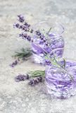 Lavender drink Summer tonik lemonade Royalty Free Stock Image