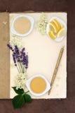 Lavender and Elderflower Champagne Royalty Free Stock Photo
