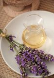 Lavender essence Stock Photo