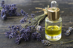 Lavender essential oil Royalty Free Stock Photography