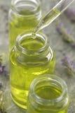 Lavender essential oil - Symbol Royalty Free Stock Photo
