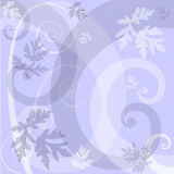 Lavender Floral Background. An illustrated background with an abstract floral design in lavender color vector illustration