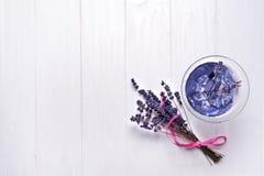 Lavender flower bouquet Stock Photo