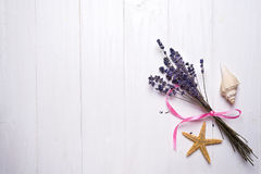Lavender flower bouquet Royalty Free Stock Photos