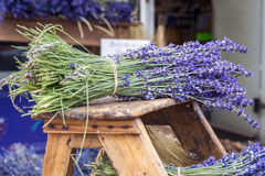 Lavender flowers in a lavender Store in Sault Stock Photo