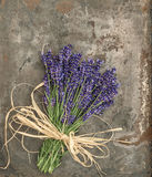 Lavender flowers with shabby chic style decorations Royalty Free Stock Photography
