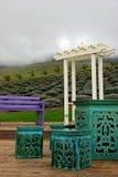 Lavender gardens in Maui Stock Image