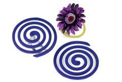 Lavender and geranium mosquito fumigator Stock Image