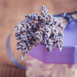 Lavender gift Stock Photo
