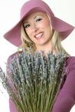 Lavender Girl Stock Photos