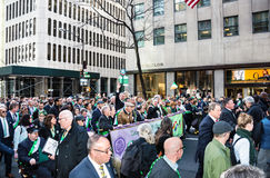The Lavender and Green Alliance March Stock Photos