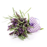 Lavender and Heart Royalty Free Stock Photo